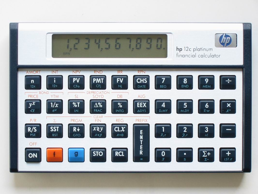 hp 12c platinum rh thimet de Finance Calculator HP Hewlett-Packard HP 10BII