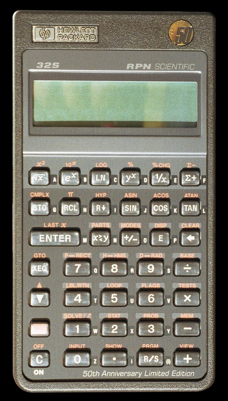 hp 32s sii rh thimet de HP Scientific Calculator HP Scientific Calculator