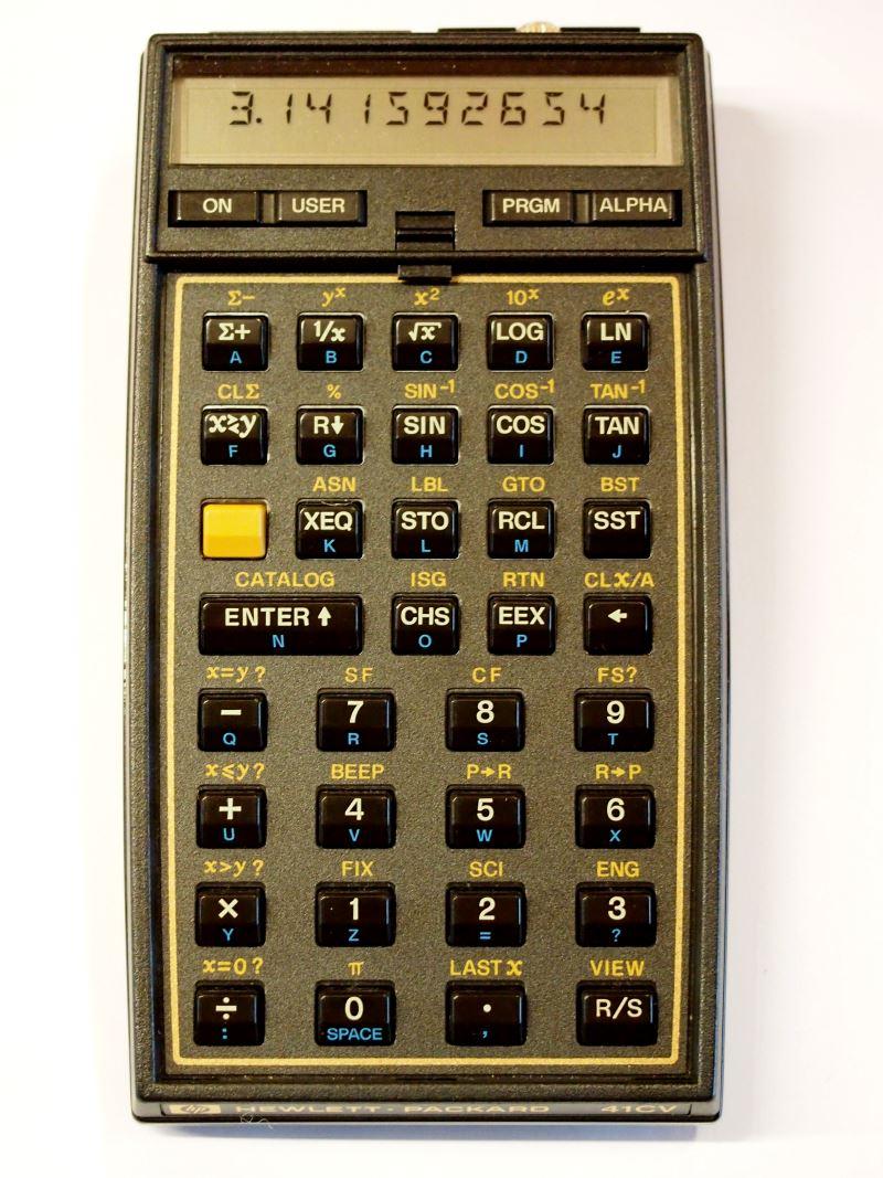 HP-41CL, A HP-41CV ...